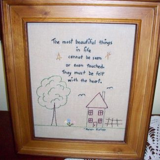 Primitive Stitcheries-Famous Quotes