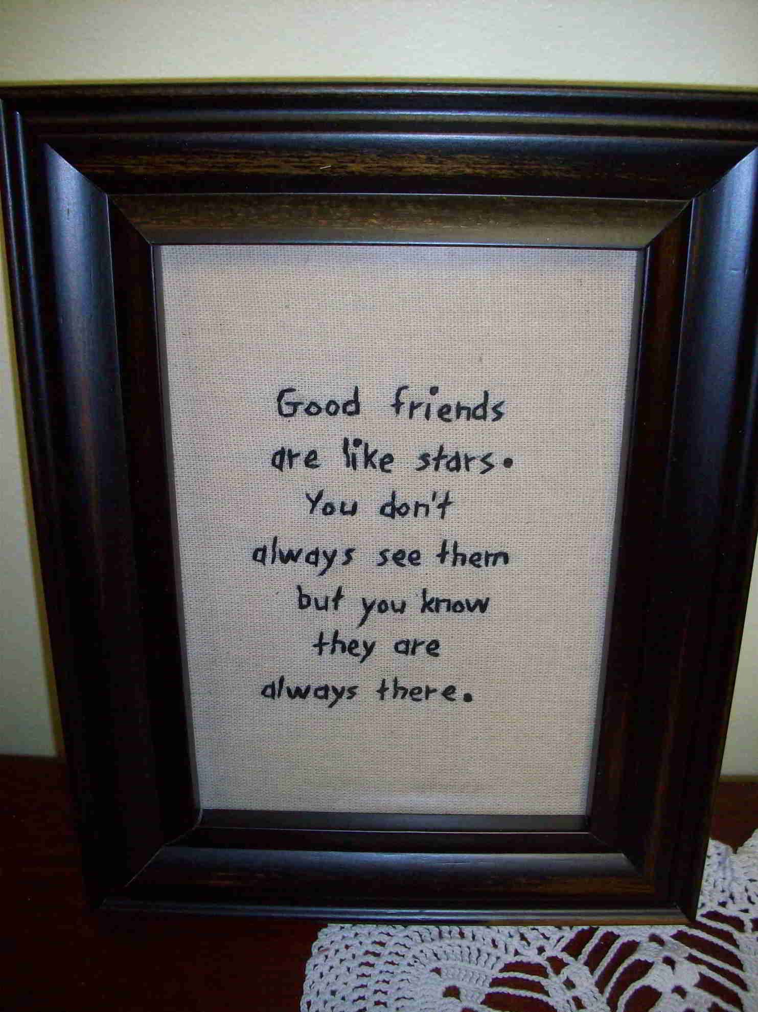 Primitive Stitcheries - Friendship